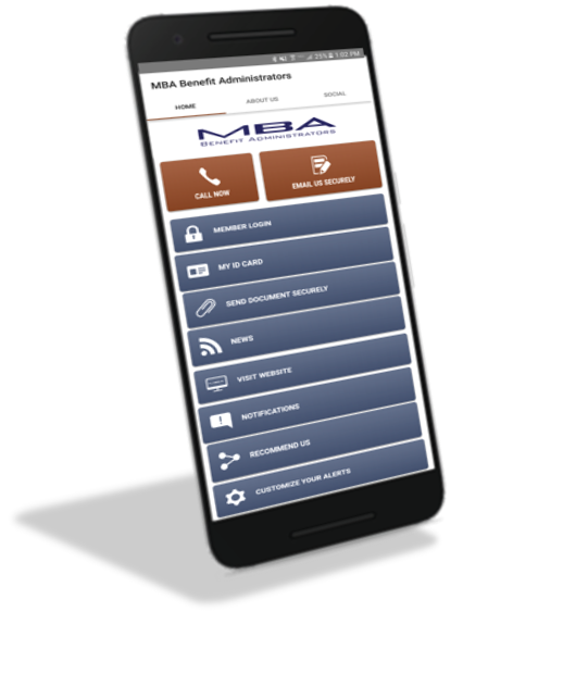 Mobile App for MBA